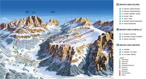 Cortina-Faloria-Cristallo-Mietres-Piste-Map-Large