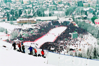 Kitzbuhel downhill race